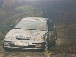 RAJD WRC 2005 ZDJĘCIE NUMER #012 HONDA CIVIC