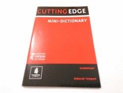 CUTTING EDGE. MINI-DICTIONARY Deborah Tempest 2004