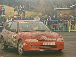 RAJD WRC 2005 ZDJĘCIE NUMER #290 HONDA CIVIC