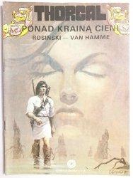 THORGAL. PONAD KRAINĄ CIENI - Rosiński, Van Hamme 1990