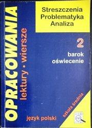 OPRACOWANIA CZĘŚĆ 2 BAROK OŚWIECENIE - Stopka 1999