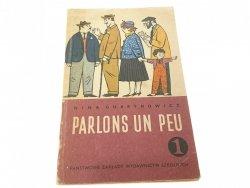 PARLONS UN PEU 1 - Nina Gubrynowicz 1968