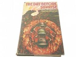 THE DAY BEFORE SUNRISE - Thomas Wiseman