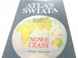 POLITYCZNY ATLAS ŚWIATA. NOWE CZASY 1986