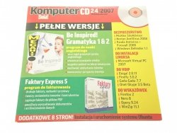 KOMPUTER ŚWIAT CD 24 2007 19 LISTOPADA 2007