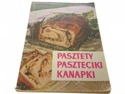 PASZTETY PASZTECIKI KANAPKI Kulzowa-Hawliczek 1966