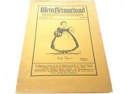 MEIN HEIMATLAND 14. JAHRGANG HEFT 3 APRIL 1927