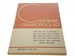 CZŁOWIEK I ŚWIATOPOGLĄD WRZESIEŃ NR 9 (212) 1983