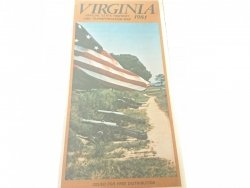 VIRGINIA. OFFICIAL STATE HIGHWAY AND... 1981