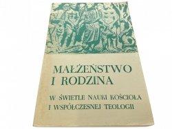 MAŁŻEŃSTWO I RODZINA - Red. Szafrański 1985