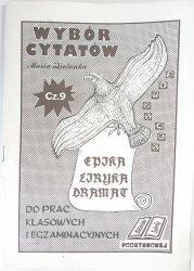 WYBÓR CYTATÓW DLA UCZNIÓW SZKÓŁ PODSTAWOWYCH - Maria Zielonka 1992