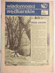 WIADOMOŚCI WĘDKARSKIE NR 4 1966