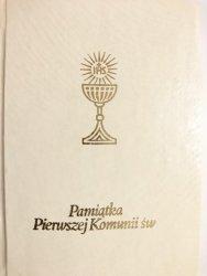 PAMIĄTKA PIERWSZEJ KOMUNII ŚW. - Ks. Jan Szyca 1991