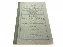 NIEMIECKA KSIĄŻKA. PODRĘCZNIK - Mietke 1925