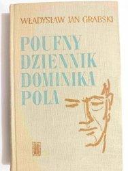 POUFNY DZIENNIK DOMINIKA POLA - Władysław Jan Grabski 1966