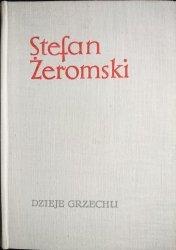 DZIEJE GRZECHU - Stefan Żeromski 1966