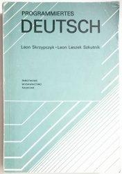 PROGRAMMIERTES DEUTSCH - Leon Skrzypczyk 1977
