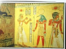EGYPT. VALLEY OF THE QUEENS. TAL DER KONIGINNEN