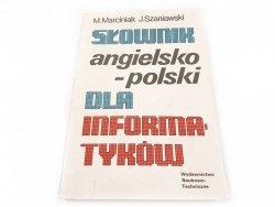 SŁOWNIK ANGIELSKO-POLSKI DLA INFORMATYKÓW
