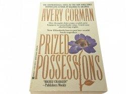 PRIZED POSSESSIONS - Avery Corman (1992)