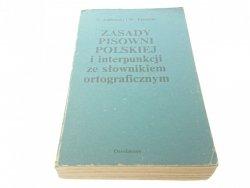 ZASADY PISOWNI POLSKIEJ - Jodłowski, Taszycki 1986