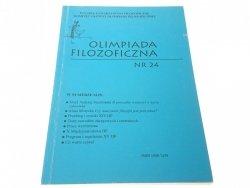 OLIMPIADA FILOZOFICZNA NR 24 - B. Kalisz (2004)