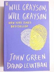 WILL GRAYSON, WILL GRAYSON - John Green, David Levithan 2013
