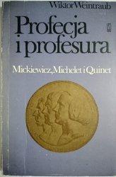 PROFECJA I PROFESURA - Wiktor Weintraub 1975
