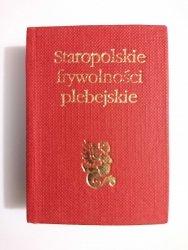 STAROPOLSKIE FRYWOLNOŚCI PLEBEJSKIE Stanisław Grzeszczuk 1989