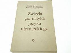 ZWIĘZŁA GRAMATYKA JĘZYKA NIEMIECKIEGO - Dewitzowa