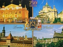 LWÓW 750 LAT 1256-2006 CZTERY UJĘCIA