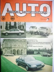 AUTO TECHNIKA MOTORYZACYJNA CZERWIEC 1988