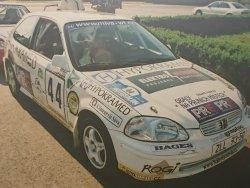 RAJD WRC 2005 ZDJĘCIE NUMER #307 HONDA CIVIC