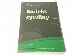 KODEKS CYWILNY. TEKSTY USTAW (2009)