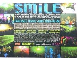 SMILE. SATURDAYS VIADUCT. 2MIN WALK VAUXHALL