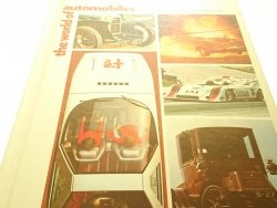 THE WORLD OF AUTOMOBILES VOLUME 1 AA/AUS 1972