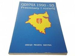GDYNIA 1990-93 PRZEMIANY I ROZWÓJ
