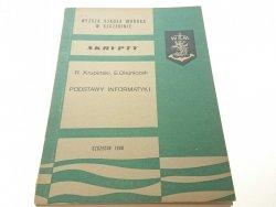 SKRYPTY. PODSTAWY INFORMATYKI - Krupiński (1980)