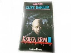 KSIĘGA KRWI III - Clive Barker 1991