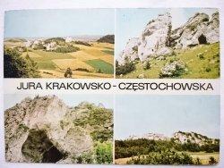 JURA KRAKOWSKO-CZĘSTOCHOWSKA. KRAJOBRAZ, SKAŁY I INNE FOT. CHOJNACKI, ZBORSKI
