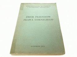 ZBIÓR PRZEPISÓW PRAWA GÓRNICZEGO (1979)
