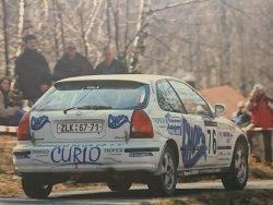 RAJD WRC 2005 ZDJĘCIE NUMER #293 HONDA CIVIC