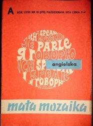 MAŁA MOZAIKA ANGIELSKA NR 10 (170) PAŹDZIERNIK 1974