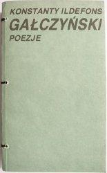 POEZJE - Konstanty Ildefons Gałczyński 1987