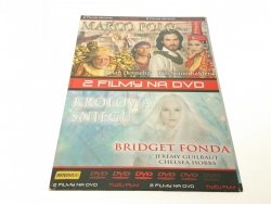 2 FILMY NA DVD MARCO POLO; KRÓLOWA ŚNIEGU