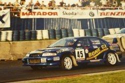 RAJD WRC 2005 ZDJĘCIE NUMER #322 MITSUBISHI LANCER