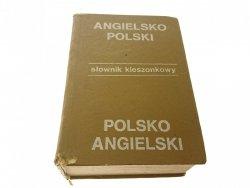 KIESZONKOWY SŁOWNIK ANGIELSKO-POLSKI; POL-ANG 1987