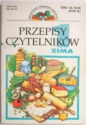 PRZEPISY CZYTELNIKÓW. ZIMA  1996