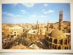 EGYPT. POST CARD CAIRO: EL AZHAR SQUARE