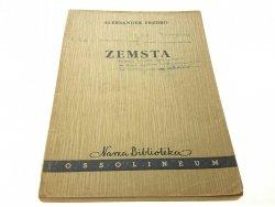 ZEMSTA - ALEKSANDER FREDRO 1958